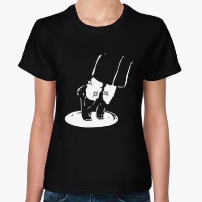 Женская футболка майкл джексон