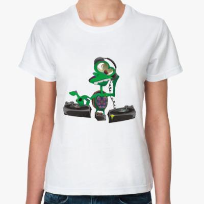 Классическая футболка DJ Turtle