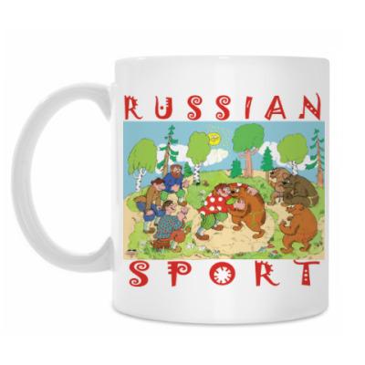 Кружка русский спорт