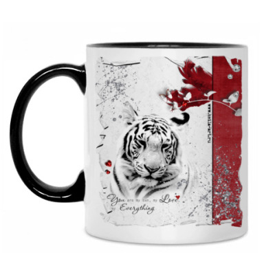 Кружка Tiger in love 3