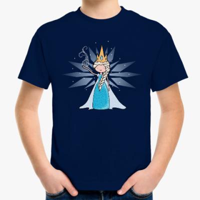 Детская футболка Снежная Королева
