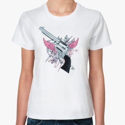Классическая футболка 'Револьвер'