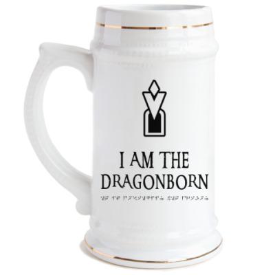 Пивная кружка Dragonborn Skyrim