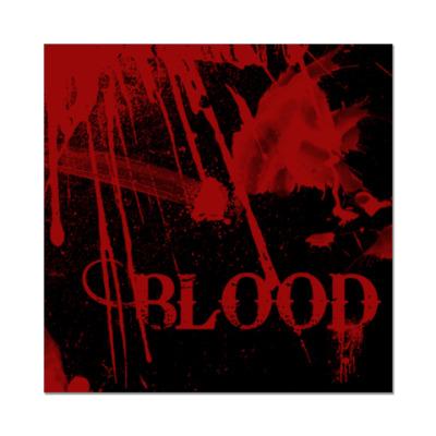Наклейка (стикер) Blood ( )