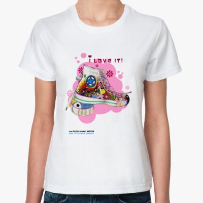 Классическая футболка 'Love'