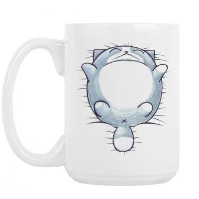 Кружка Круглый кот