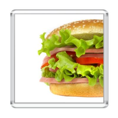 Магнит  'Гамбургер'