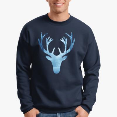 Свитшот Лесной олень / Wood deer