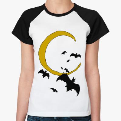 Женская футболка реглан Halloween
