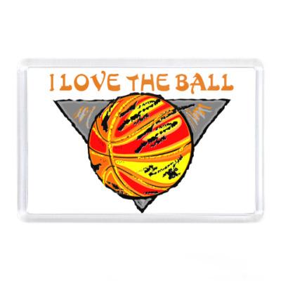 Магнит I Love The Ball