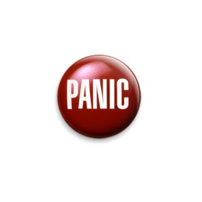 Значок 25мм  Panic 25 мм