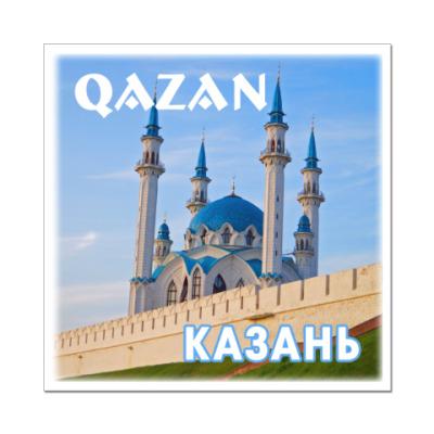 Наклейка (стикер) Казань