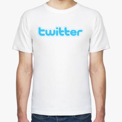 Футболка  футболка Твиттер