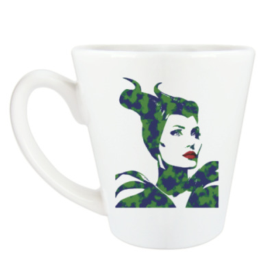 Чашка Латте Малефисента