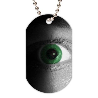 Жетон dog-tag 'Глаз'
