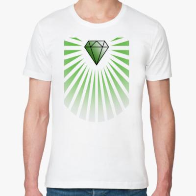 Футболка из органик-хлопка Алмаз