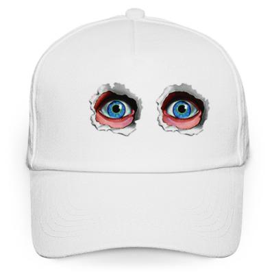 Кепка бейсболка глаза