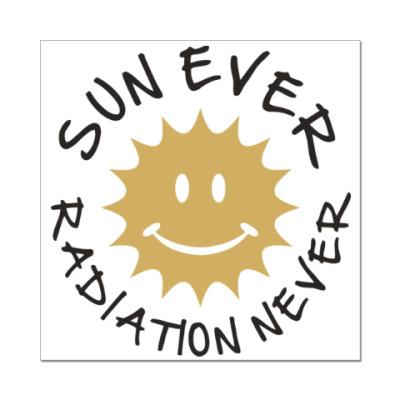 Наклейка (стикер) Солнце всегда