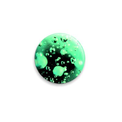 Значок 25мм  Пузырьки