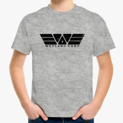 Детская футболка Чужой. Weyland-Yutani Corp