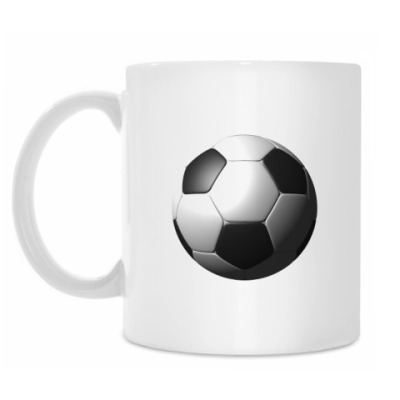 Кружка 3d мяч