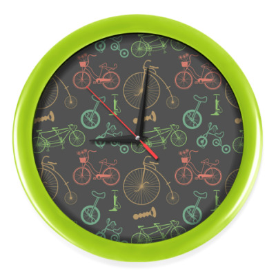 Настенные часы Велосипеды