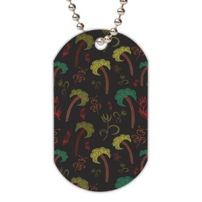Жетон dog-tag Пальмы
