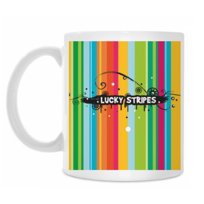 Кружка Lucky stripes
