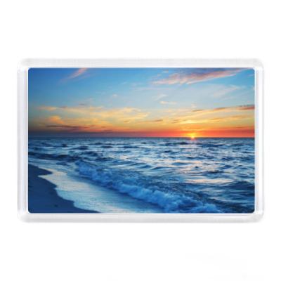 Магнит Красивое море