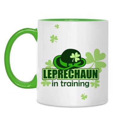 Кружка Leprechaun in training