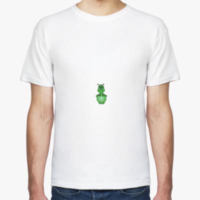 Футболка Зеленый человечек