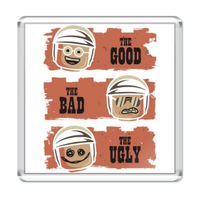 Магнит Лего - хороший, плохой, злой
