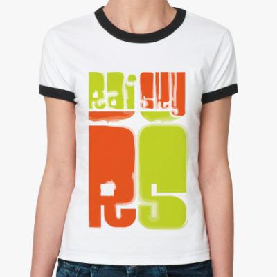 Женская футболка Ringer-T RS
