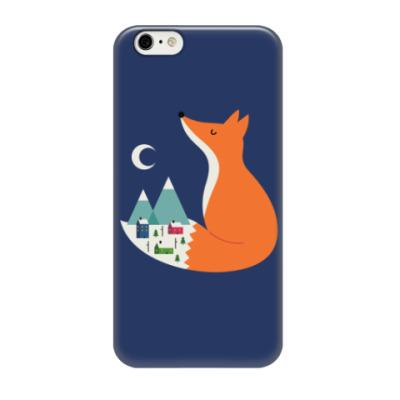 Чехол для iPhone 6/6s Зимний лис