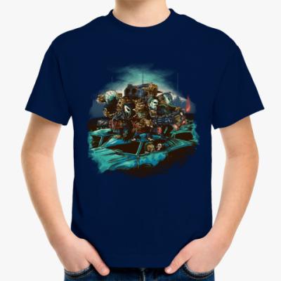 Детская футболка Рассвет ночного кошмара