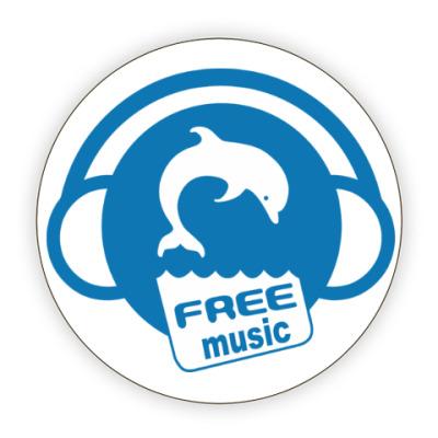 Костер (подставка под кружку) Free Music