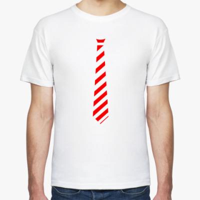 Футболка футболка галстук красный муж