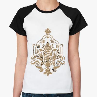 Женская футболка реглан Символ