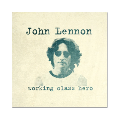 Наклейка (стикер) John Lennon