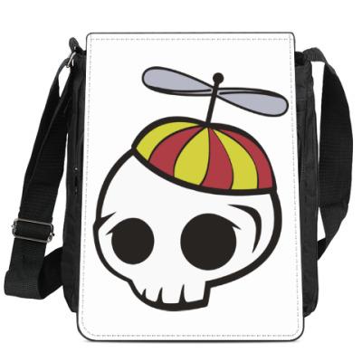 Сумка-планшет Черепки