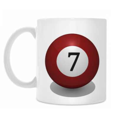 Кружка 'Бильярдный шар 7'