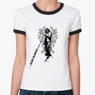 Женская футболка Ringer-T Airwaves