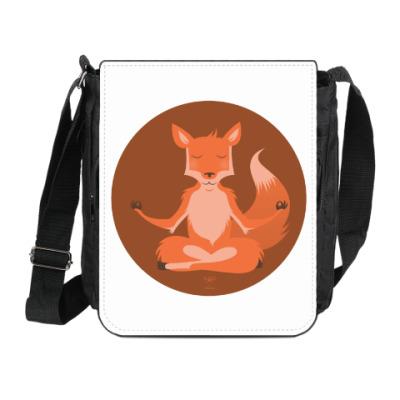 Сумка на плечо (мини-планшет) Animal Zen: F is for Fox