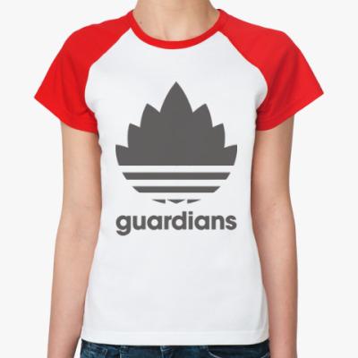 Женская футболка реглан Guardians