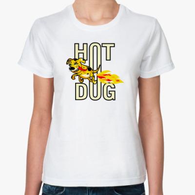 Классическая футболка  hotdog