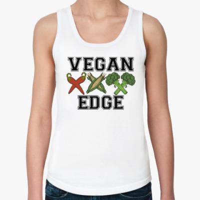 Женская майка vegan XXX edge
