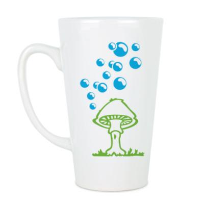 Чашка Латте Гриб