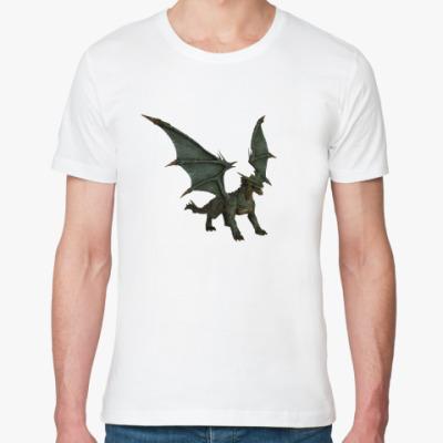 Футболка из органик-хлопка Дракон