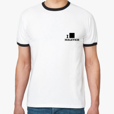 Футболка Ringer-T  Malevich