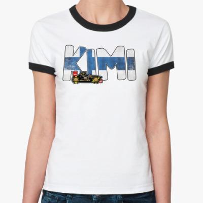 Женская футболка Ringer-T KIMI